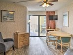 This 1-bedroom,1-bathroom vacation rental condo in Myrtle Beach is the perfect getaway for 6 guests!