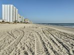 The condo is just steps from pristine beaches.