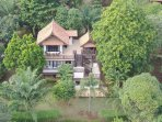 Coconut Villa Ariel View