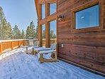 Enjoy panoramic views from the 2 wraparound decks!