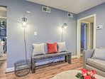 Inside you'll find a space completely renovated with upscale decor and amenities.
