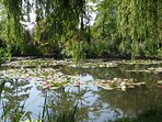 The famous Lilly Pond at Monets Garden