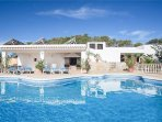5 bedroom Villa in Cala Gracio, Balearic Islands, Spain : ref 5334802