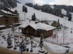 Amazing Winter views of the slopes.