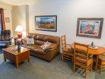 Mountain modern furnishings and decor