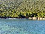 Beach Karuba-Distance 1,5 km by Road, 700 m by Walking Path
