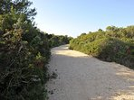 Walking Trail-Veli Žal Beach
