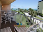 Huge balcony (off of living room & master bedroom) with 2 loungers
