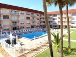 Beautiful Spanish Main complex with heated pool