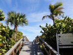 Direct beach access from the complex to the beach!