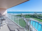 Enjoy breathtaking views of the Ocean and Cocoa Beach Pier.