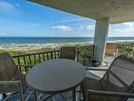 Direct Oceanfront Corner Unit with Great Views at Cape Winds!