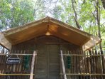 'The Wild Hermitage' -Glamping tent. Paw Haven offers 'Paw-Cation'