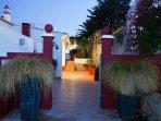 Enter via the locked gates to Villa Aguas, private and secure villa.