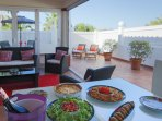 Guests comment on the different places to enjoy inside and outside Villa Aguas.