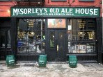 Oldest Bar in America - great place to relax with the potbelly stove warming you on a cold afternoon