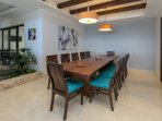Twelve Person Grand Dining Table