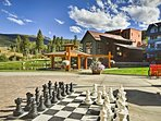 Play a game of chess with your travel companions!