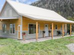 Madison Channels Cabin: Two story 3 bed/3 bath with Madison River frontage