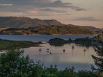 View of Craignish Lagoon and the islands beyond.