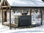 Our generator powers the whole house, so you never have to worry about your vacation being ruined.