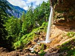 Pericnik Waterfall is a 20 minute drive from the apartment.