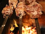 Who can bear to cook inside on those warm nights, newly added extensive BBQ/Food prep area .