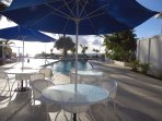 Spend time at the pool - situated beach side it's also only 2 minutes walk away. Entry is free.