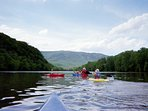 walking distance to the Shenandoah River Outfitter for canoe, kayak, and tubing fun
