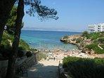 Cala Blava beach