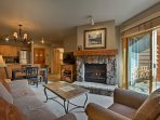 Enjoy the mountain views from this 1BR 1-bath vacation rental condo in Keystone!
