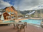 Enjoy access to amenities including the pool, hot tubs, rec room, and more.