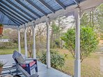 You'll have a front-row spot for sunset views on the wraparound porch.