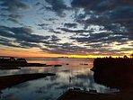 Kickback in your backyard and enjoy mesmerizing sunsets.