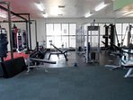 Private onsite gym accessible 24hrs.