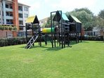 Private onsite children's play area.