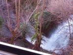 Waterfall from my window