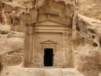 nabatain cave in small petra