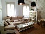 Salon apartamento Conde de Gavia