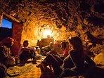 Living cave.