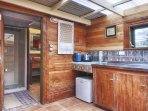 Kitchenette at the Cabin
