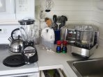 kitchen - small appliances, cooking utensils