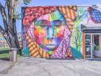 Visit Wynwood Walls located only 1.5 miles down the road.
