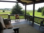 Your own private deck with a phenomenal view!