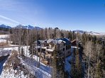 It's a mountain retreat high in the San Juan mountains of Telluride.