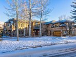 This beautiful mountain home has four bedrooms and can sleep 10.