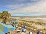 Perched on the scenic shores of Myrtle Beach, this condo has all you need and more for a sweet South Carolina retreat.