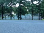 tennis & basket ball courts