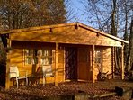 Suffolk Glamping: The Woodland Lodge in the Autumn