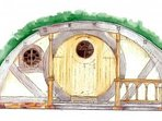 Suffolk Glamping: Pod Hollow, artist's impression.